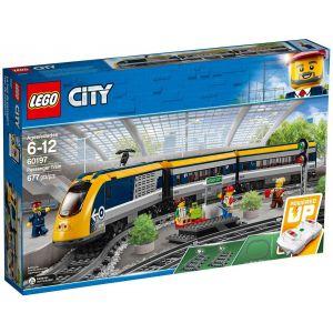 Lego 60197 - City : Le train de passagers télécommandé