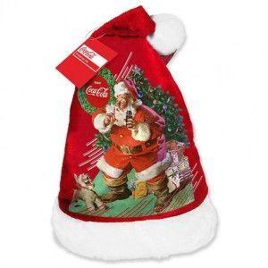 Bonnet Coca-Cola Noël Rouge