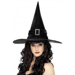 Chapeau de sorcière noir adulte