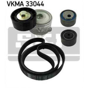 SKF Kit de courroies d'accessoires VKMA33044