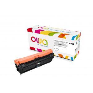 OWA Noir - cartouche de toner (alternative pour : HP CE740A)