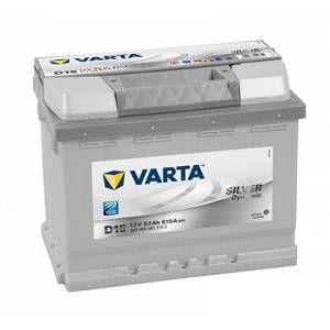 Varta Batterie D15 Silver Dynamic 63 Ah - 610 A