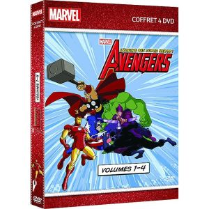 Coffret Avengers : l'équipe des super-héros - 4 DVD