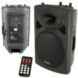 Ibiza Sound SLK15A-USB - Enceinte sono amplifiée 15/38CM 800W