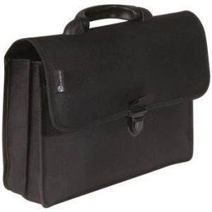 Savebag Serviette porte-document - 38 cm - Noir