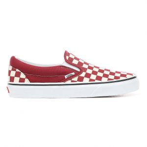 Vans Chaussures classic slip on checker rouge blanc 38 1 2
