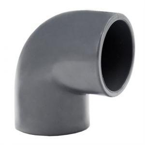 """Centrocom Raccord PVC pression Coude 90° PVC pression mixte FF &Oslash40-1""""""""1/4"""