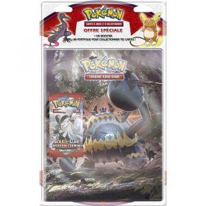 Asmodée Range Carte et Booster Pokémon Soleil et Lune 4 (Version Française)