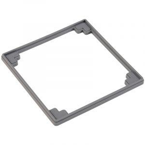 Lazer Réhausse 5 mm pour grille carrée siphon de sol Isotanche