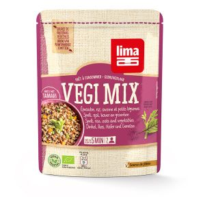 Lima Végi Mix Épeautre Riz Avoine Petits Légumes 250g