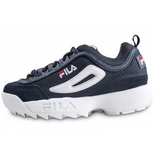 FILA Disruptor Mesh Low Dress 101043829Y, Basket - Bleu Marine - 38 EU