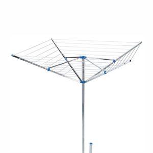 Frandis Séchoir parapluie en aluminium étandage 50 m