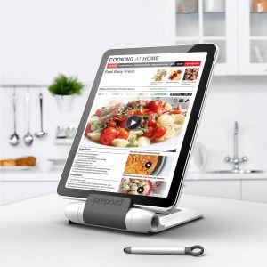Prepara Lutrin de cuisine Iprep pour tablette avec stylet