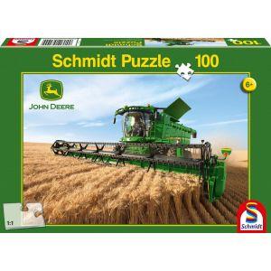 Schmidt Moissonneuse batteuse - Puzzle 100 pièces