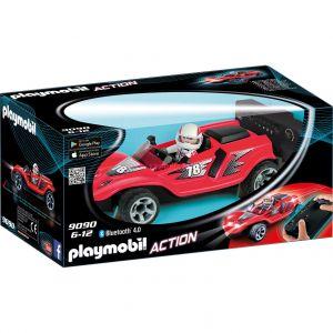 Playmobil 9090 Action - Voiture de course rouge radiocommandée