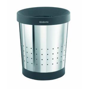 Brabantia 364280 - Corbeille à papier conique (5 L)