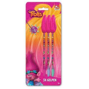 Slammer 3 stylos plumeau Trolls