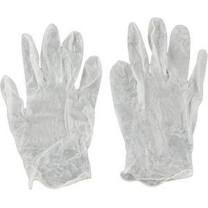 Kwb Gants jetables en vinyle sans couture ambidextres XL/10 - 933841