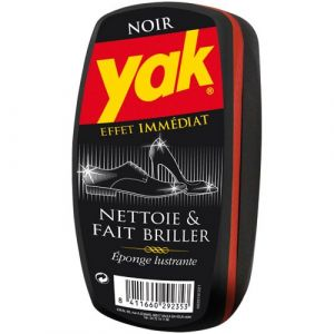 Yak 33191221 - Eponge Lustrant Chaussures - Noir - Lot de 4