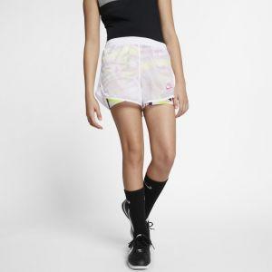 Nike Short imprimé Sportswear pour Fille plus âgée - Blanc - Taille S - Female