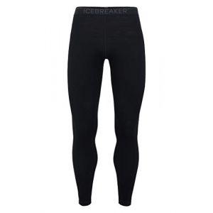 Icebreaker Vêtements intérieurs 260 Tech Leggings - Black / Monsoon - Taille L
