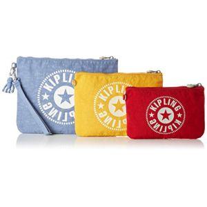 Kipling Ladies IAKA L WRISTLET porte-monnaie / sac à cosmétiques,Lot de 3, Multicolore