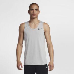 Nike Débardeur de training Breathe Homme - Gris - Taille L