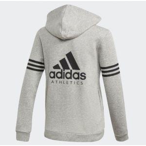 wholesale dealer dccb6 3b9d4 Adidas Veste enfant Veste Sport Id Hoodie Gris - Taille 11   12 ans,13