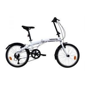 Wayscral Vélo Pliant Foldy 100 Blanc