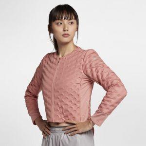 Nike Veste de Running Veste de running AeroLoft pour Femme - Rose - Taille L