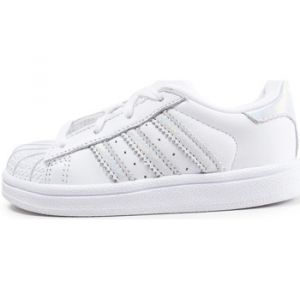 Adidas Superstar Iridescent Bébé Blanche Baskets/Tennis Bébé