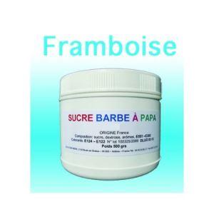 Azur Confiserie Sucre à barbe à papa Framboise (500g)