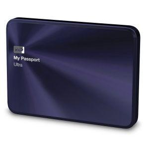 "Western Digital WDBEZW0030B - Disque dur externe My Passport Ultra Metal 3 To 2.5"" USB 3.0"