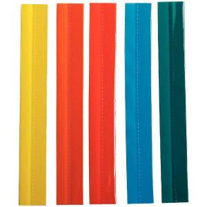 Esselte 55002 - Sachet de 5 bandes de cavaliers auto-adhésifs couleurs recoupables
