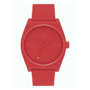 Adidas Montre Z10-191-00 - Montre Silicone Rouge Homme