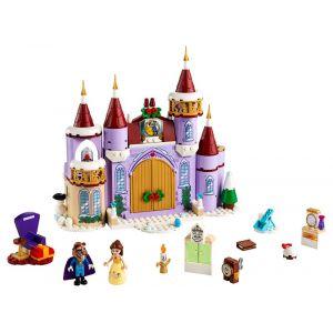 Lego Disney Princess La fête d'hiver dans le château de Belle - 43180, Jouets de construction