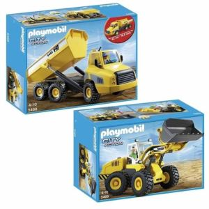 Playmobil 5469 City Action - Chargeuse avec godet