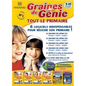 Graines De Génie : Tout le primaire (CE1, CE2, CM1, CM2) 2008/2009 [Windows]