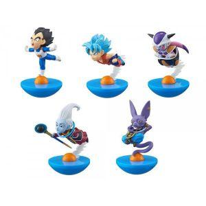 Megahouse Figurine Dragon Ball Z Super : set de 5 Trading Figure Yura Cole (8 cm)