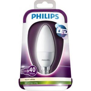 Image de Philips Lampe led flamme e14 ls 5,5 470