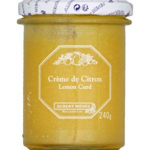 Albert ménès Crème de Citron - Lemon Curd 240 g