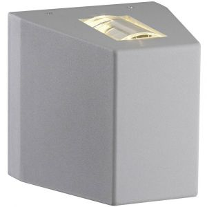 SLV OUT BEAM, applique extérieure, gris argent, QT-DE12 max. 80W, IP44 - Gris argent