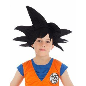 Chaks Perruque noire Goku Saiyan Dragon ball Z enfant TU