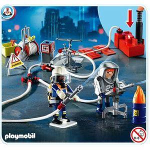 Playmobil 4825 - Pompiers et matériel d'incendie