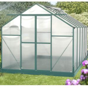 Habrita SR 4224 - Serre de jardin 10,33 m² en aluminium