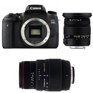 Canon EOS 760D (avec objectif Sigma 17-50mm)
