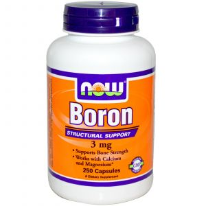 Image de Now Foods Boron - 3 mg 250 capsules