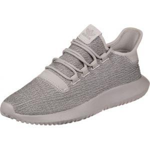 Adidas Tubular Shadow, Chaussures de Gymnastique Homme, Argent (Vapour Grey F16/Raw Pink F15), 44 2/3 EU
