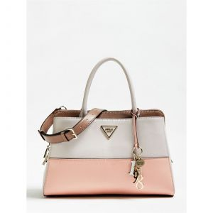 Guess Maddy Girlfriend Satchel, femme, Blanc