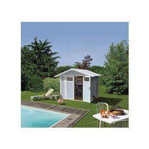 Grosfillex Utility U 4 - Abri de jardin en PVC 3,56 m2